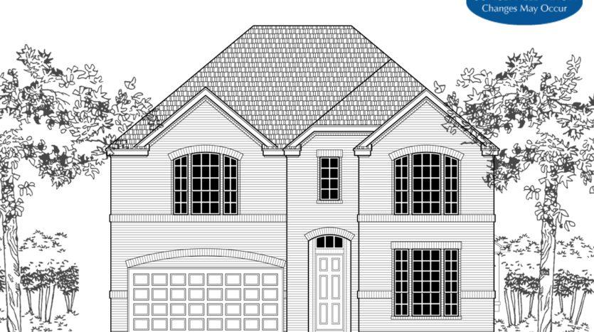 Landon Homes Pecan Meadow subdivision 1992 Parish Lane Allen TX 75013