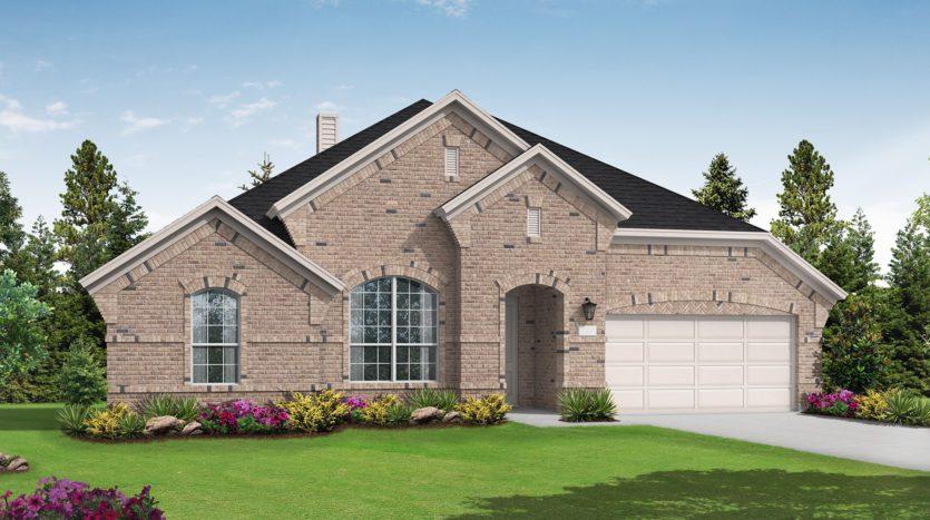 Coventry Homes Sandbrock Ranch subdivision  Aubrey TX 76227