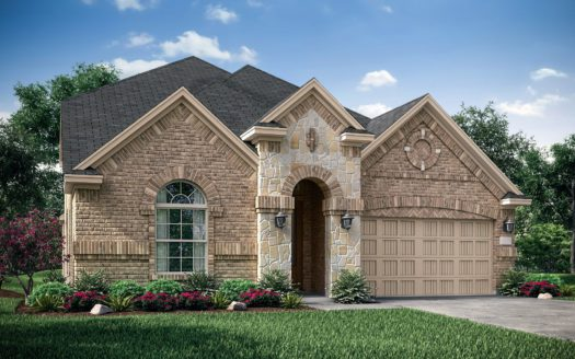 Village Builders Bradford Park 50' subdivision 5544 Winter Haven Bend Flower Mound TX 75028
