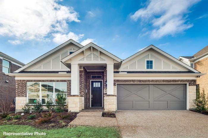 Grand Homes Country Club Estates subdivision 338 Myrtle Beach Drive Garland TX 75040