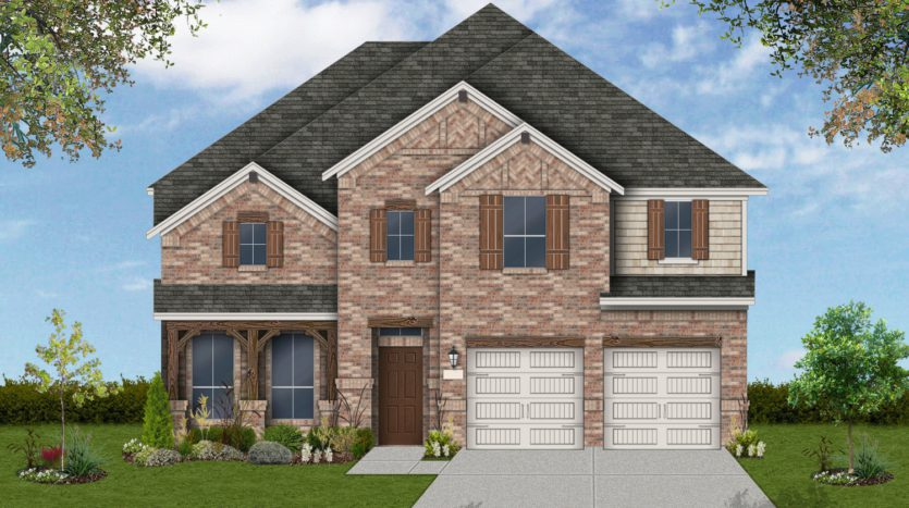 Coventry Homes Seventeen Lakes 50' Homesites subdivision 4501 Duck Creek Lane Roanoke TX 76262