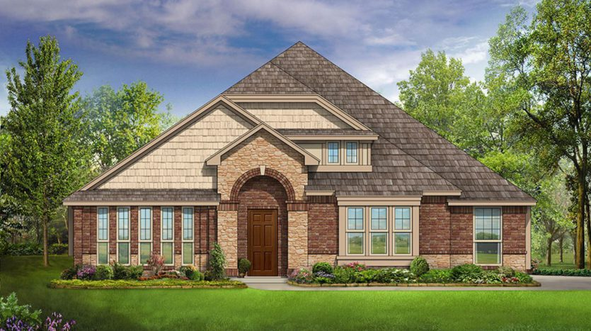 Bloomfield Homes Triple Diamond Ranch subdivision 2601 Gavin Drive Mansfield TX 76063