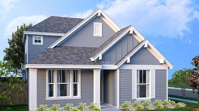 Landon Homes Magnolia Landing Cottage 40's subdivision 3513 Petals Place Rowlett TX 75089