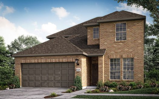 Taylor Morrison South Oak subdivision 121 South Oak Drive Oak Point TX 75068