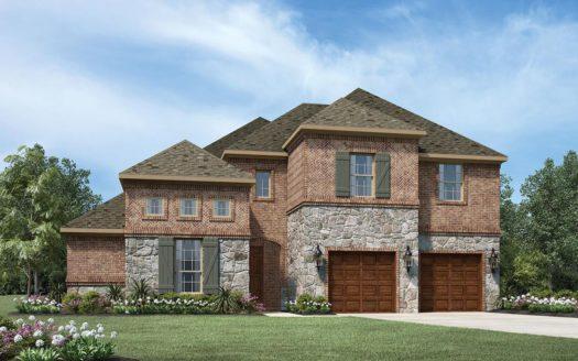 Toll Brothers Pecan Square subdivision 708 Redbrick Ln Northlake TX 76247