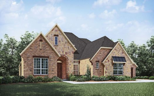 Drees Custom Homes Canyon Falls subdivision 11400 Hickory Falls Drive Argyle TX 76226
