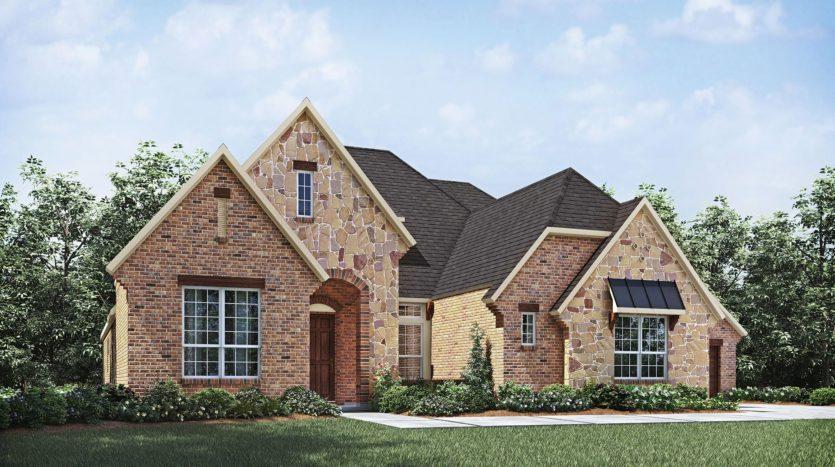 Drees Custom Homes Canyon Falls subdivision 11400 Hickory Falls Drive Argyle TX 76226