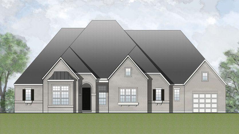 Drees Custom Homes Canyon Falls subdivision 201 Big Sky Circle Argyle TX 76226