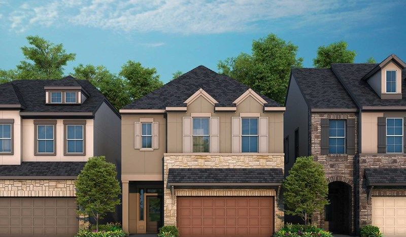 David Weekley Homes The Grove at White Rock Hills - Park subdivision 2070 White Grove Drive Dallas TX 75228
