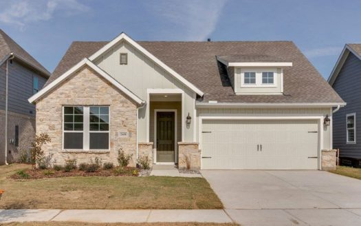 David Weekley Homes Pecan Square subdivision 709 Redbrick Lane Northlake TX 76247