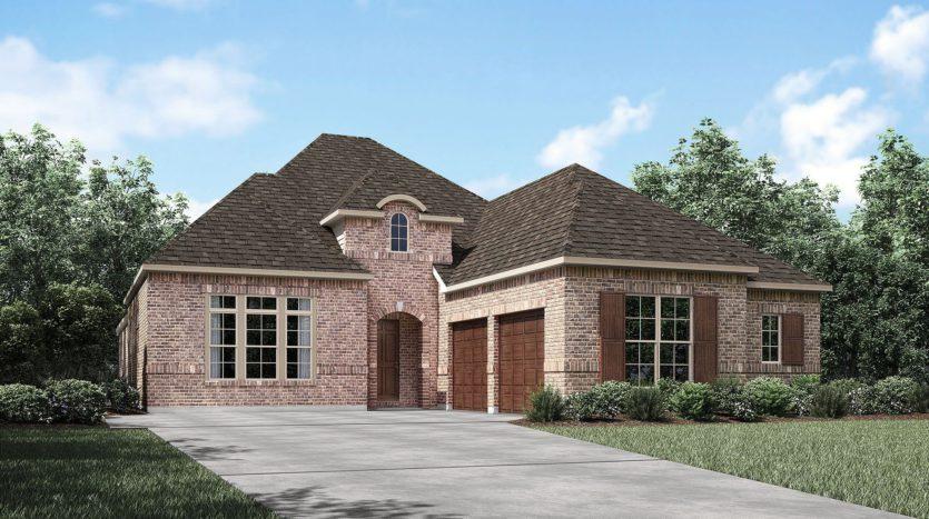 Drees Custom Homes Viridian - Elements subdivision 4718 Beaver Creek Drive Arlington TX 76005