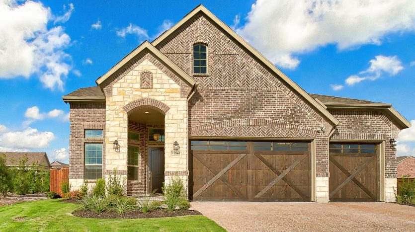 Chesmar Homes Trinity Falls subdivision 805 Lost Woods Way McKinney TX 75071