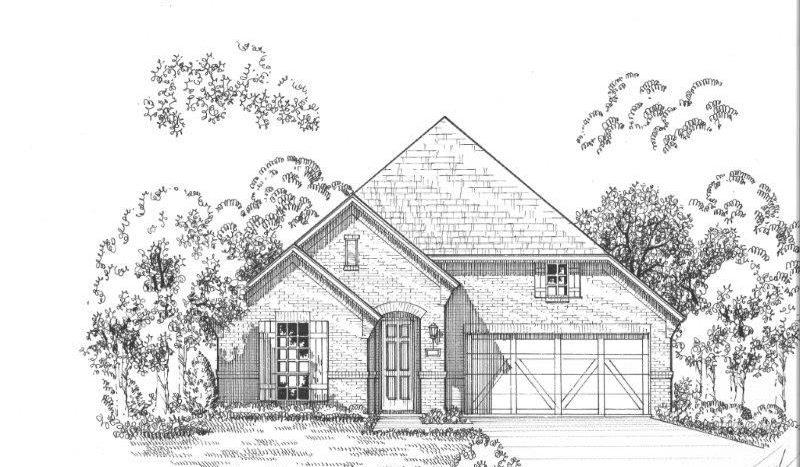 American Legend Homes Star Trail - 55s subdivision 1011 Gentle Knoll Lane Prosper TX 75078