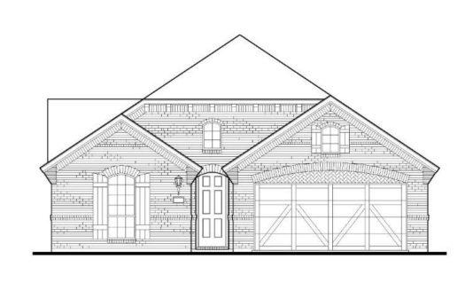 American Legend Homes Union Park - 50s subdivision 1101 Parkstone Drive Aubrey TX 76227