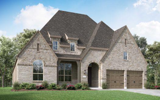 Highland Homes Parkside Prosper subdivision 641 Country Brook Lane Prosper TX 75078