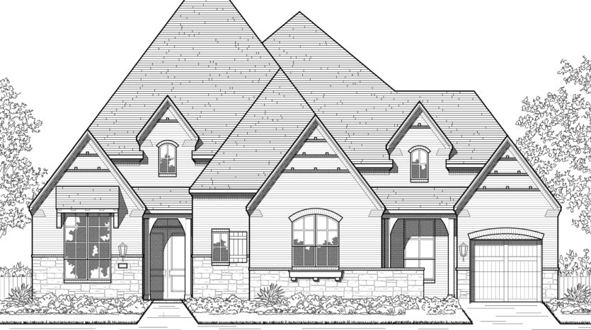 Highland Homes Wildridge: 70ft. lots subdivision 9716 Wilderness Road Oak Point TX 75068