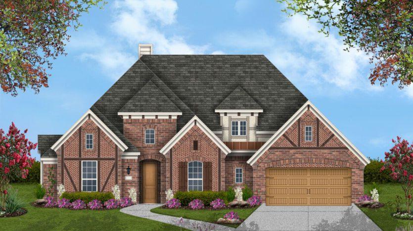 Coventry Homes Wildridge 70' Homesites subdivision 9701 Rubicon Trail Oak Point TX 75068