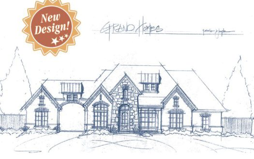 Grand Homes Estates at Pleasant Valley subdivision 4609 Aiken Trail Sachse TX 75048