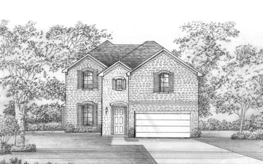 Shaddock Homes Lakewood at Brookhollow - 55' Lots subdivision 2991 Meadow Dell Drive Prosper TX 75078