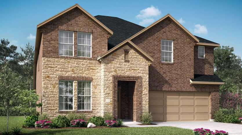 UnionMain Homes Park Trails subdivision 113 Joshua Tree Court Forney TX 75126