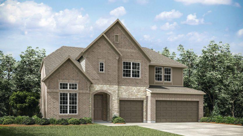 Drees Custom Homes Trinity Falls subdivision 909 Lost Woods Way McKinney TX 75071