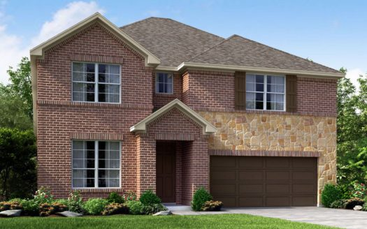Meritage Homes The Enclave at Oak Grove subdivision 2136 Wyatt Way Little Elm TX 75068