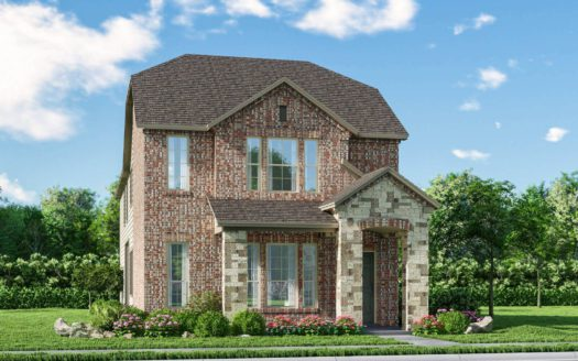 Meritage Homes Northaven - Springs Series subdivision 3904 Barnett Road Rowlett TX 75089