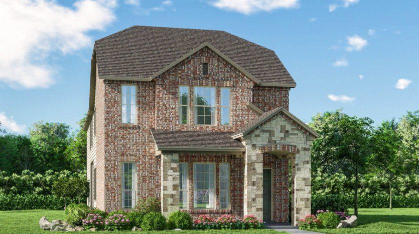 Meritage Homes Northaven - Springs Series subdivision 3812 Barnett Road Rowlett TX 75089