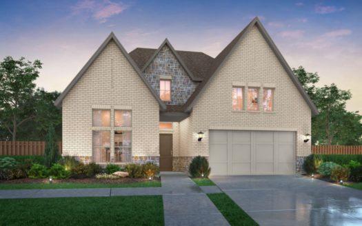 Southgate Homes Windsong Ranch 61 Series subdivision 4280 Bonner Court Prosper TX 75078