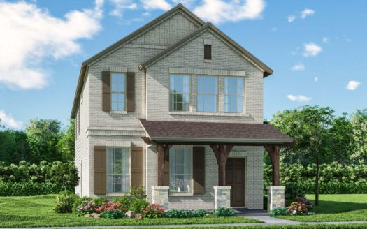 Meritage Homes Ranch Park Village - Cottage Series subdivision 4137 Bullwhip Creek Lane Sachse TX 75048