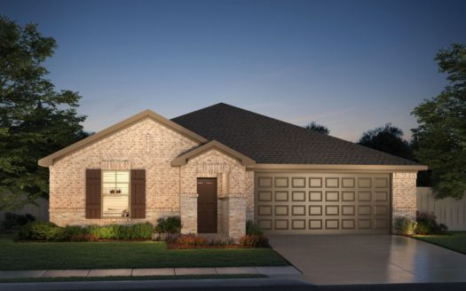 Meritage Homes ArrowBrooke - Classic Series subdivision 1609 Gold Mine Trail Aubrey TX 76227