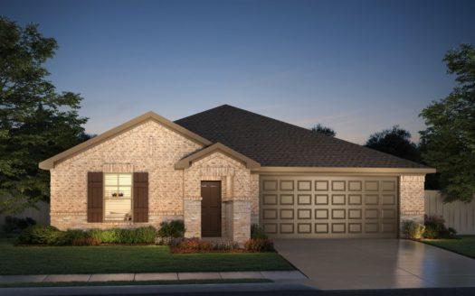 Meritage Homes ArrowBrooke - Classic Series subdivision 1829 Settlement Way Aubrey TX 76227