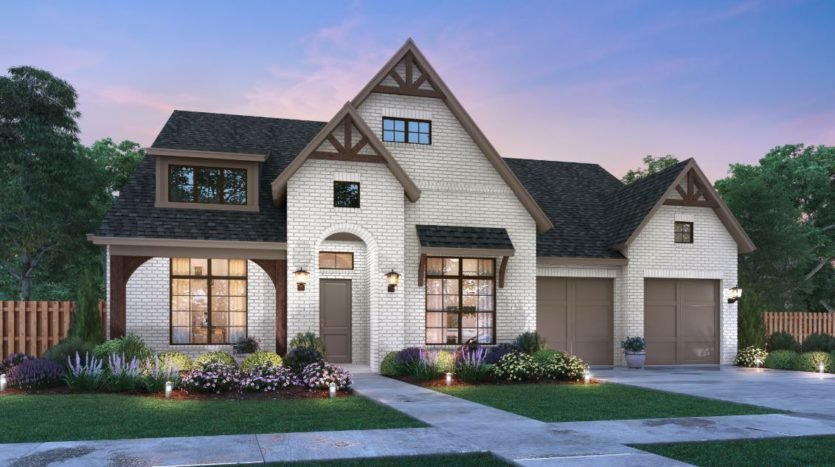 Southgate Homes Windsong Ranch 71 Series subdivision 4280 Bonner Court Prosper TX 75078