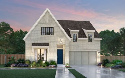 Southgate Homes Edgewood 55 Series subdivision 8192 Cabernet St Frisco TX 75035