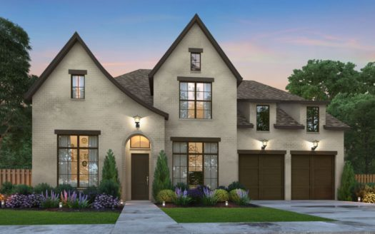 Southgate Homes Edgewood 74 Series subdivision 8192 Cabernet St Frisco TX 75035