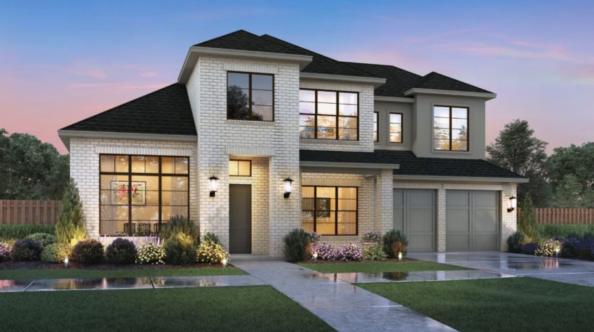 Southgate Homes Windsong Ranch 81 Series subdivision 4280 Bonner Court Prosper TX 75078