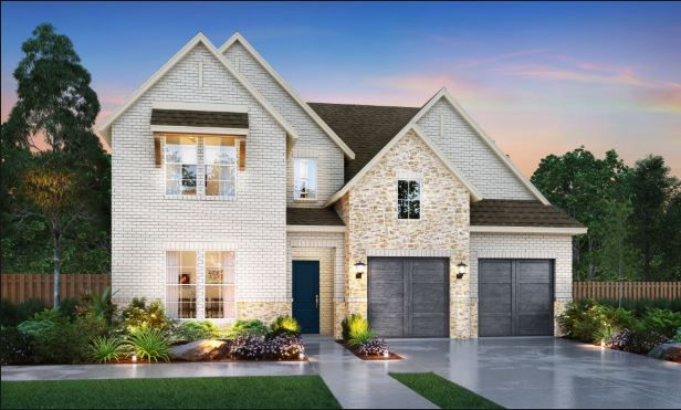 Southgate Homes Windsong Ranch 61 Series subdivision 3780 Roundtree Prosper TX 75078