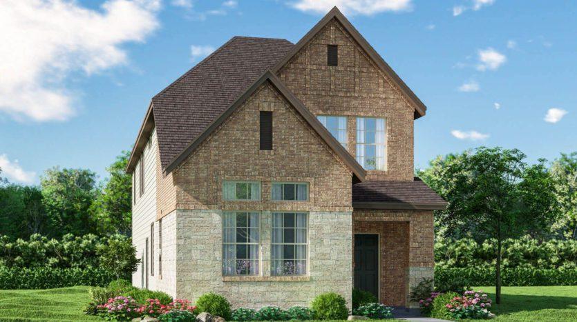 Meritage Homes Ranch Park Village - Cottage Series subdivision 4106 Saddlehorn Way Sachse TX 75048