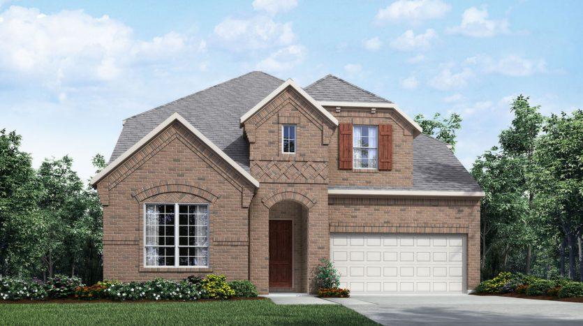 Drees Custom Homes Light Farms subdivision 1747 Ellington Drive Celina TX 75009