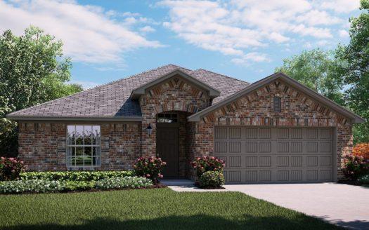 Lennar Hillstone Pointe 40s & 50s subdivision 2324 Larimar Drive Little Elm TX 75068