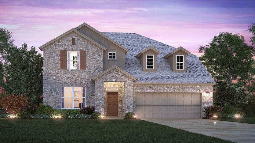 M/I Homes Sutton Fields subdivision 6505 Farndon Drive Celina TX 75009