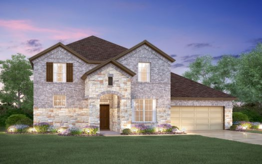M/I Homes Canyon Falls subdivision 101 Big Sky Circle Northlake TX 76226