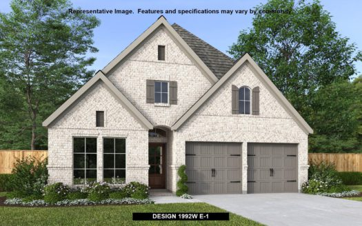 Perry Homes Trinity Falls 45' subdivision 717 Lost Woods Way McKinney TX 75071