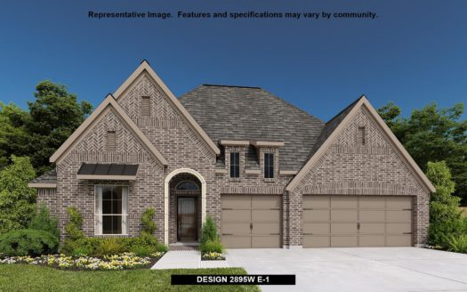 Perry Homes Sandbrock Ranch 60' subdivision 916 BRIDLE PATH PARKWAY Aubrey TX 76227