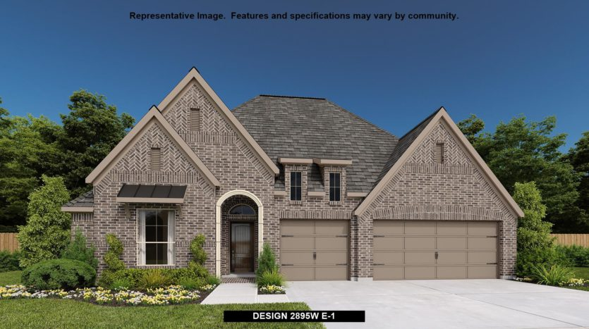 Perry Homes Lilyana 60' subdivision 1424 RED ROSE TRAIL Prosper TX 75078