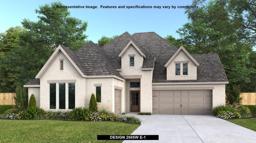 Perry Homes Parks at Legacy 65' subdivision 2740 Clearwater Drive Prosper TX 75078