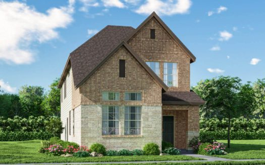 Meritage Homes Ranch Park Village - Cottage Series subdivision 4138 Ranchero Drive Sachse TX 75048