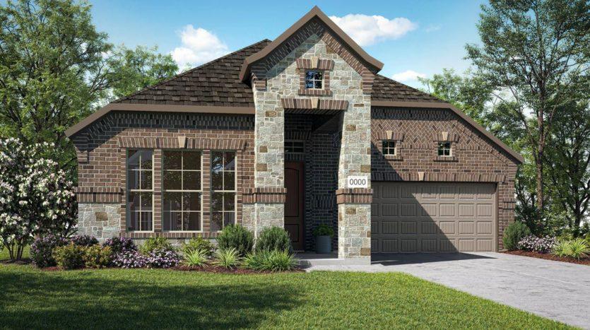 Trendmaker Homes Stark Farms subdivision 5301 Pagewood Drive Denton TX 76207