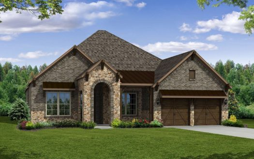 Beazer Homes Dove Creek - Traditions 65' subdivision 13806 Azul Lane Frisco TX 75035