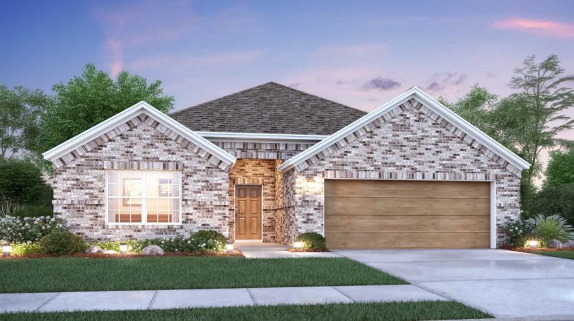 M/I Homes Sutton Fields subdivision 6505 Farndon Drive Celina TX 75009